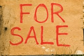 Image showing home made for sale board
